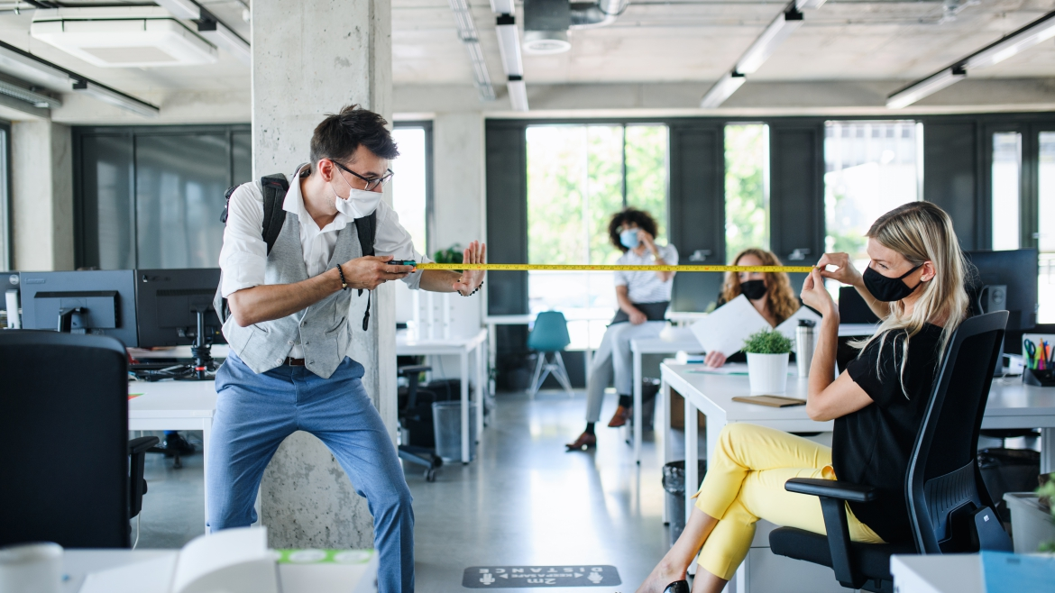 5 tips to make Social Distancing in the office possible